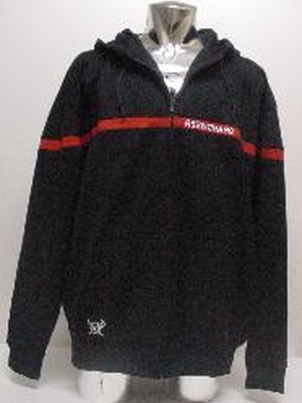Sweater met rits en kap (nieuw)