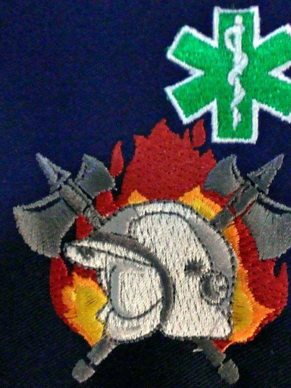 polosweater brandweer-verpleegkundige nieuw