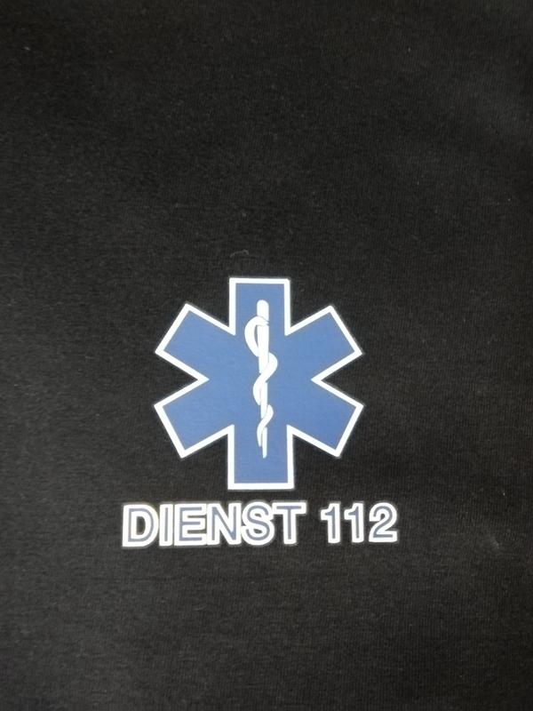 T-shirt dienst 112