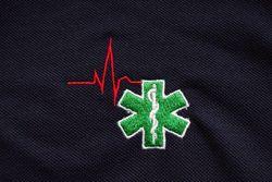 sweater met geborduurd logo verpleegkundige