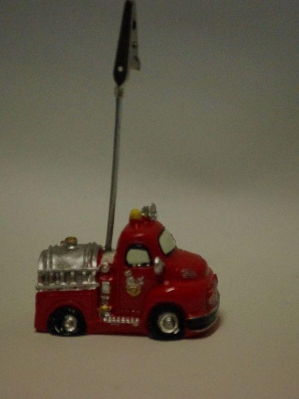 cliphouder op brandweerwagen