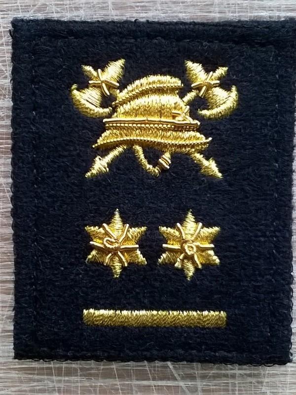 graadaanduiding met velcro Luitenant-kolonel