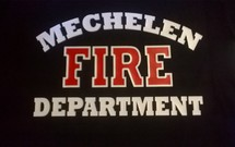 "T-shirt met gepersonaliseerde ""Fire Department"""