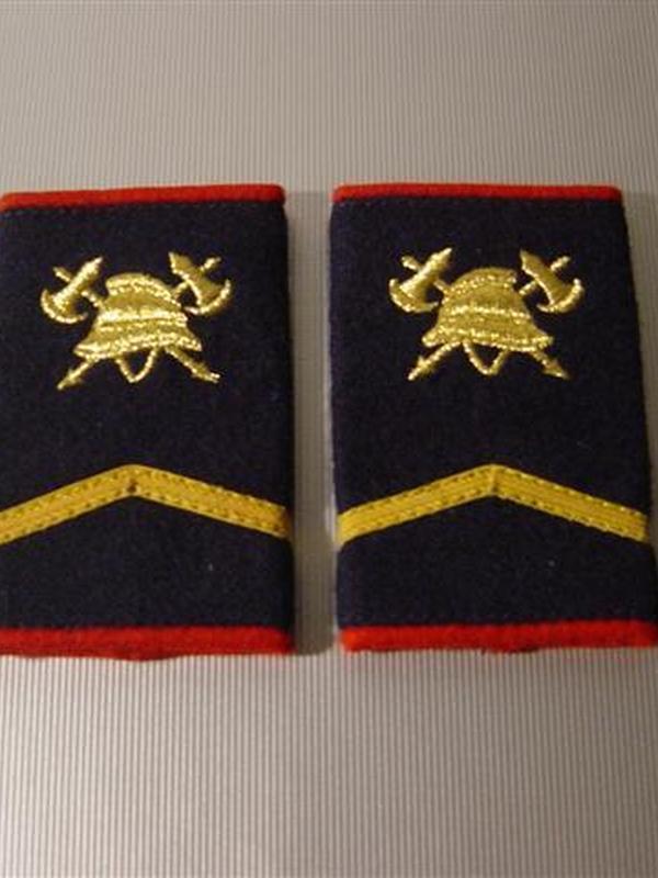 passanten sergeant geborduurd