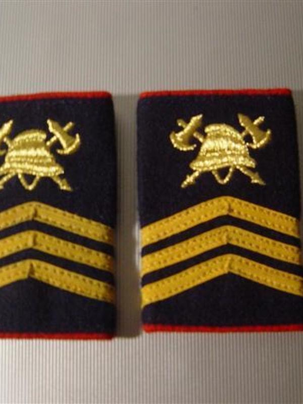 passanten sergeant-majoor geborduurd
