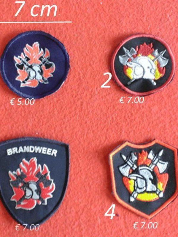 badges brandweer model 3