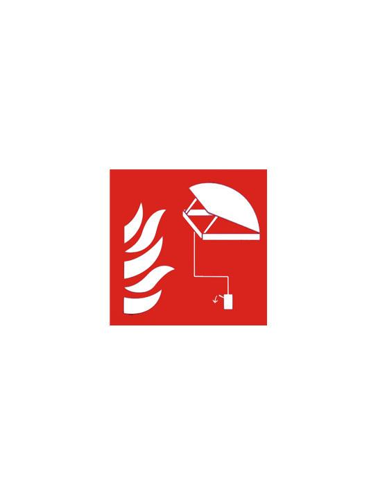 pictogram rookluik bedieningsknop 15/15 cm pvc