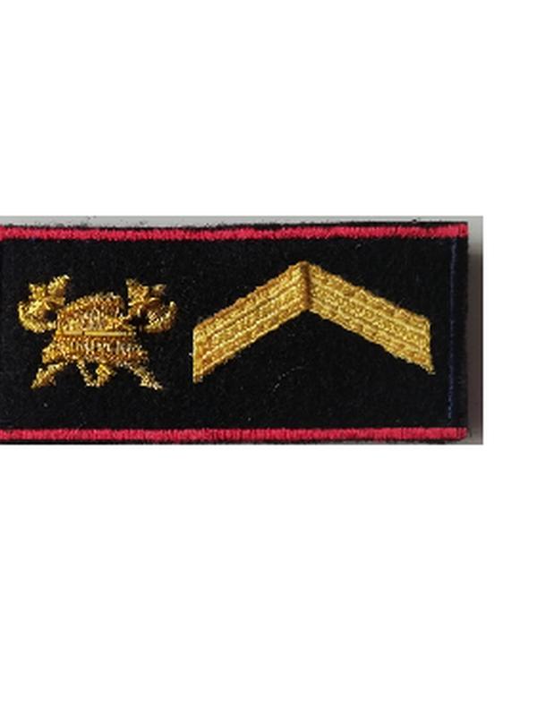 graadaanduiding velcro lang model sergeant