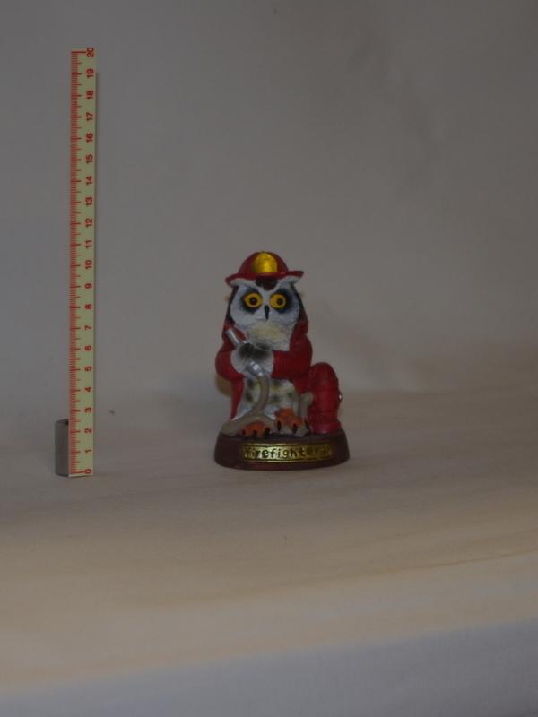 beeldje uil brandweerman