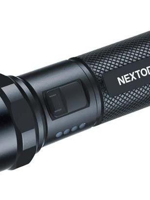 Nextorch zaklamp P80 led 1300 lm 28 cm aluminium zwart  1300 lumen