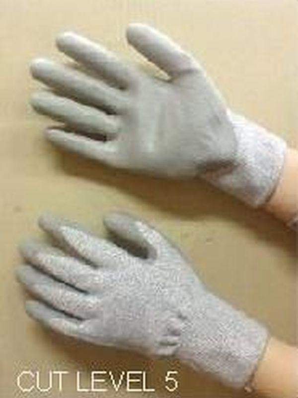 Dyneema glasfiber handschoen En388